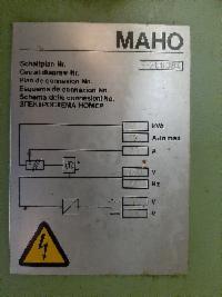 Produktbild 5 zu MaschineMAHO MH 500 W