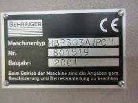 Produktbild 4 zu MaschineBehringer HBP 303 A / PCM