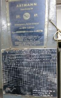 Produktbild 4 zu MaschineARTMANN JE 110 / 2500